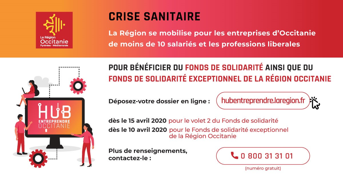 Fonds de solidarité région occitanie